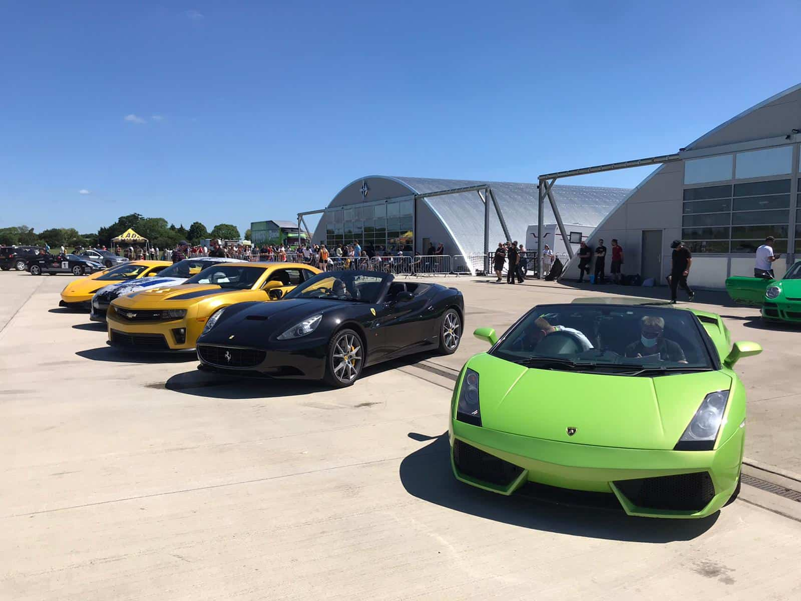 Sywell Aerodrome track day event May 2021